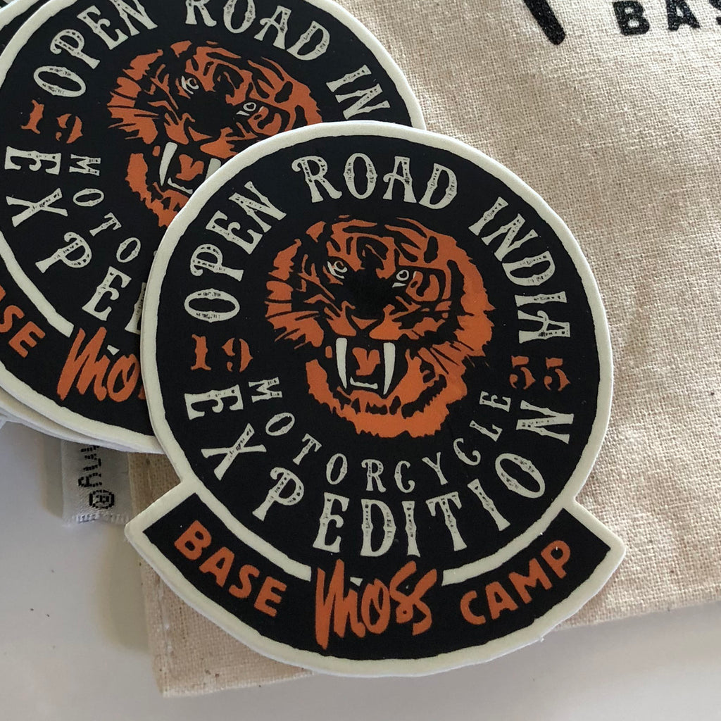 Open Road India Motorcycle Expedition Sticker