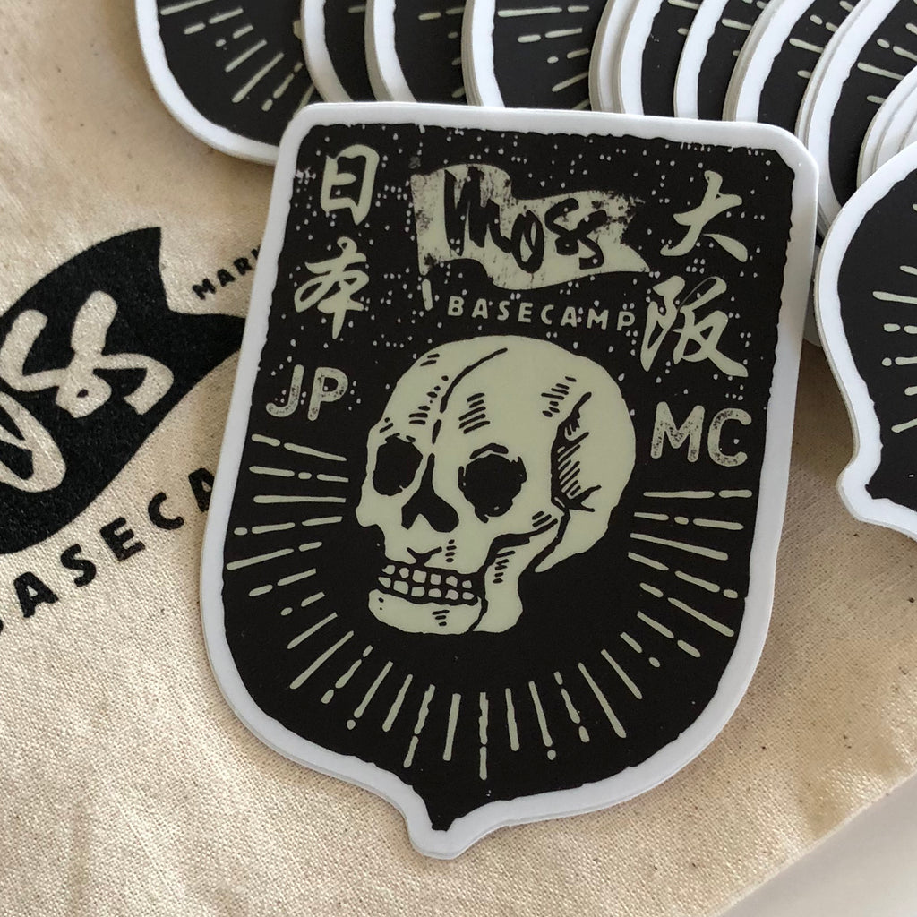 Japanese Motorcycle Club Sticker