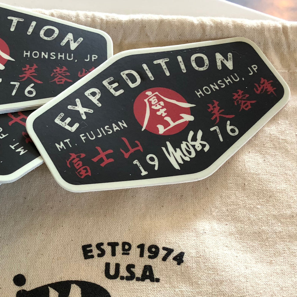 Mt. Fuji Expedition Sticker