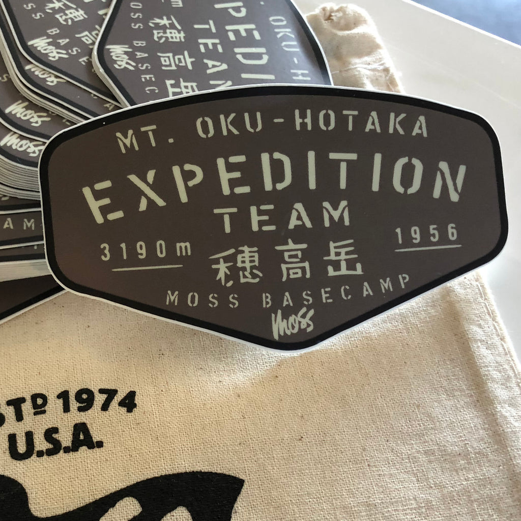 Mt. Oku-Hotaka Expedition Team Sticker