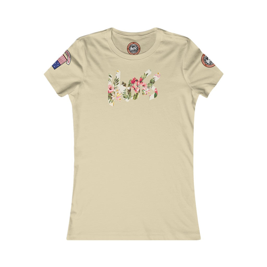 Women's Moss Logo Floral Light
