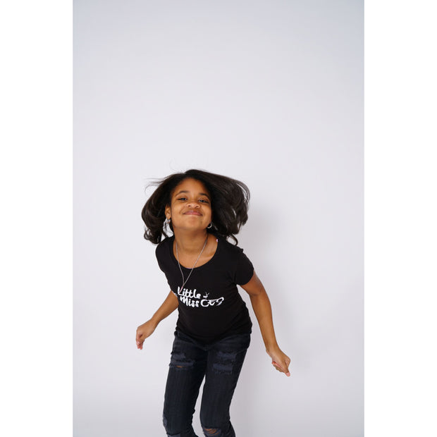 Girls Boss Black T-shirt - Amir & Amira