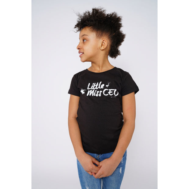 Girls Boss Black T-shirt