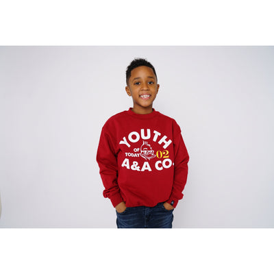 Boys Youth Crewneck Sweatshirt