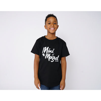 Boys Mogul Black T-Shirt - Amir & Amira