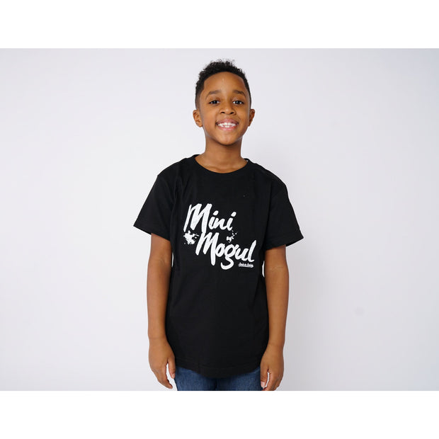 Boys Mogul Black T-Shirt