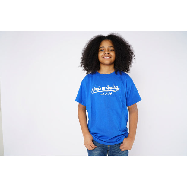 Boys Signature Blue T-Shirt
