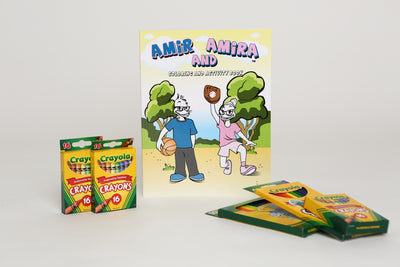 Coloring & Activity Book - Amir & Amira