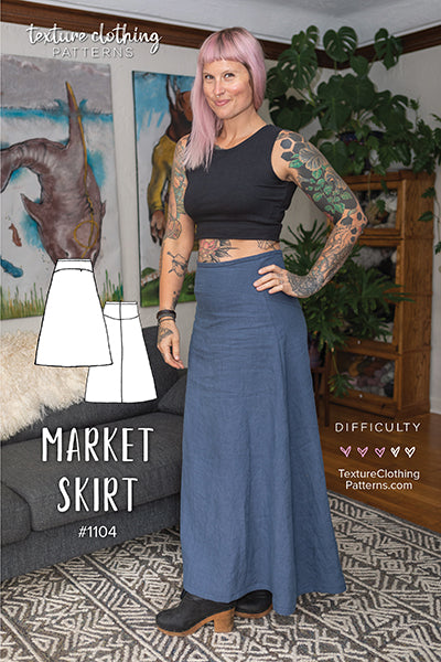 Market Skirt Sewing Pattern