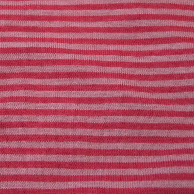 Berry Stripe: rayon/cotton/spandex