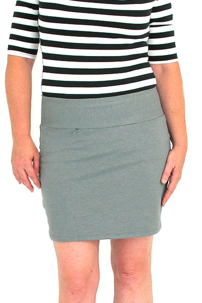 Fitted Comfy Skirt :: Mini