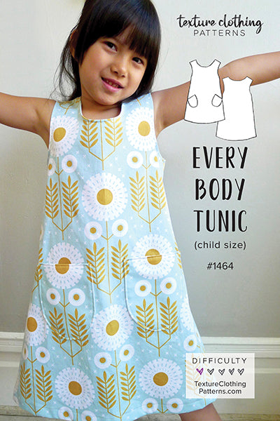 Every Body Tunic Sewing Pattern (Child Size)