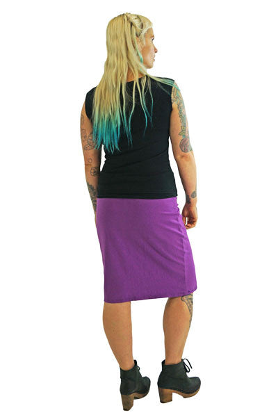 Comfy Skirt® - Fitted Knee Length