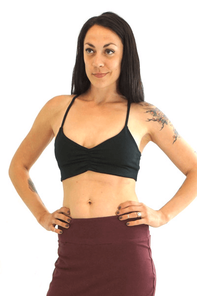 ab419863d6 Organic Cotton   Hemp Bralette by Texture Clothing