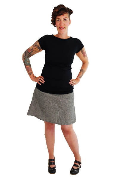 Sassy Skirt Sewing Pattern
