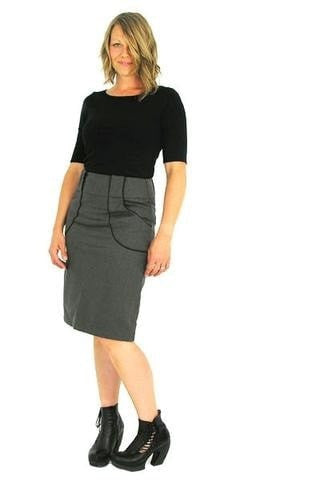 Basic Fitted Skirt