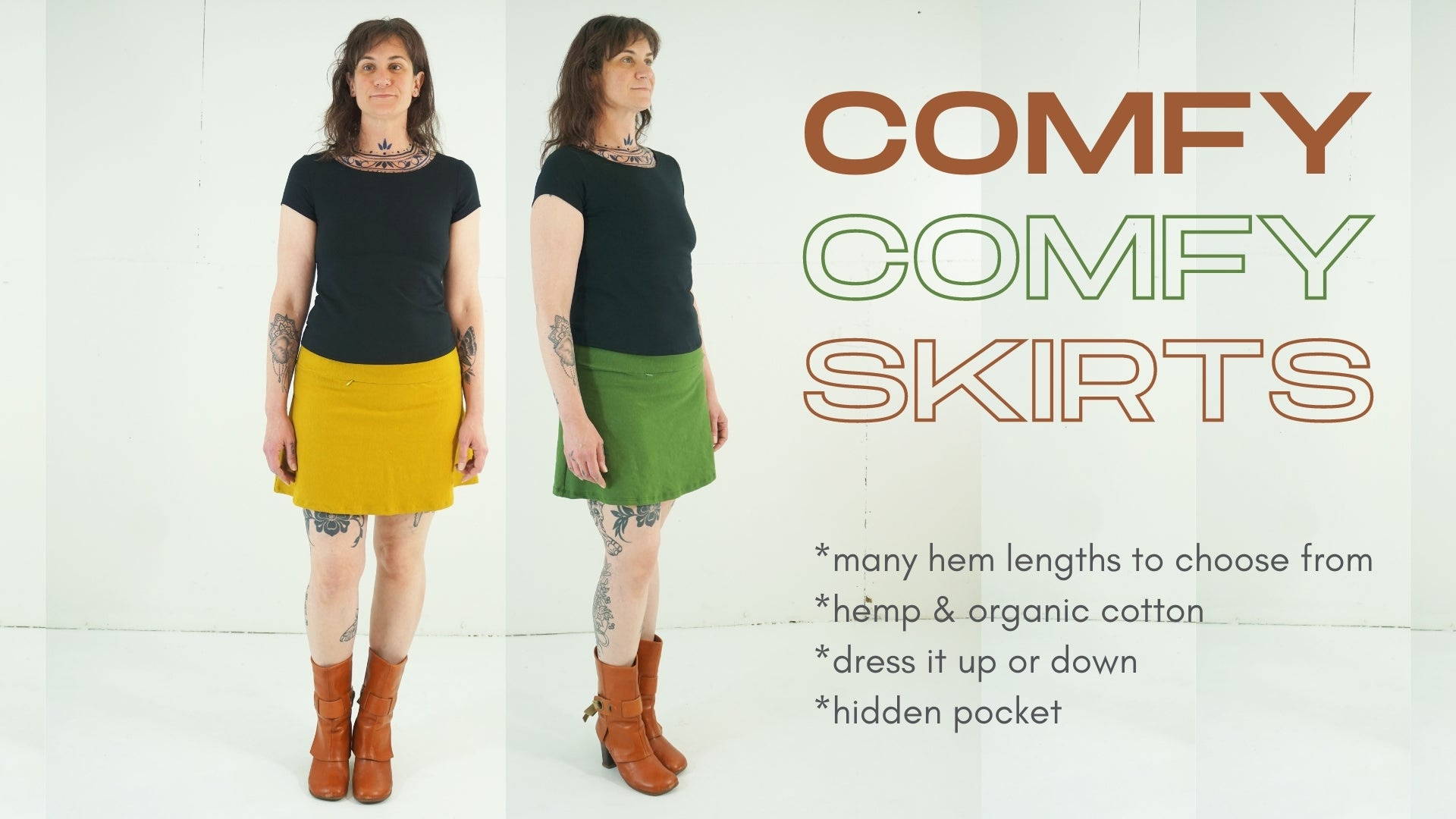 eco conscious organic & hemp clothing
