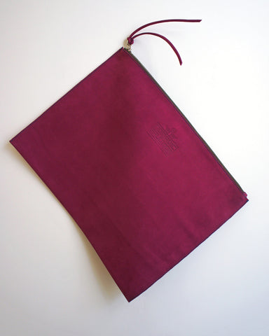 Hangai Clutch in Fuchsia
