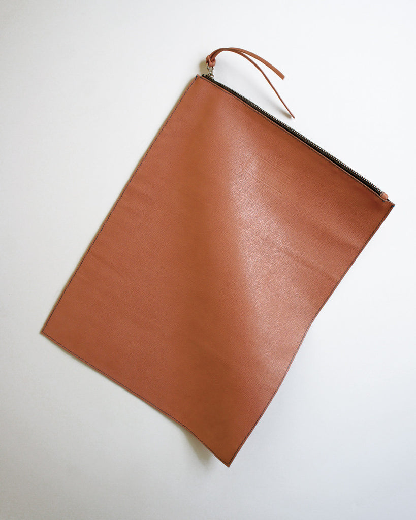Altai Foldover Clutch in Dusty Pink