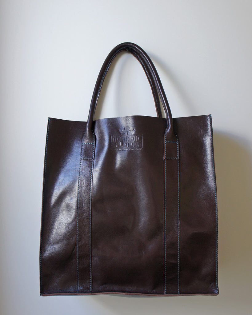 Taiga Weekender Tote Bag in Chocolate Brown