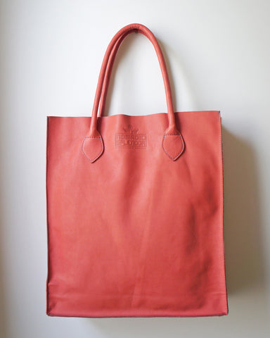 Gobi Shopper Tote Bag in Coral