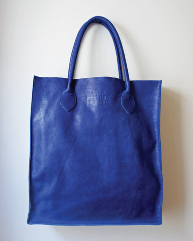 Gobi Shopper Tote Bag in Indigo