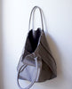 Matte Grey Shopper Tote Bag