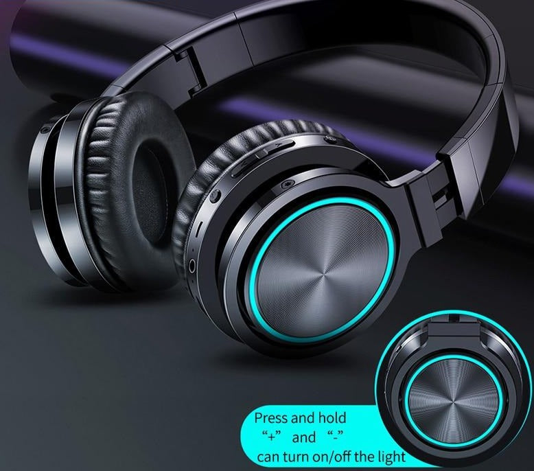Strong Bass Wireless Headphones