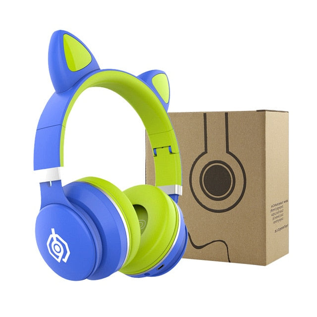 PrimoPea Cat Ear Headphones