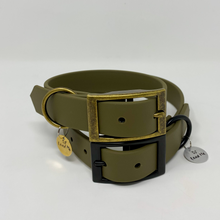 Lead Me Pet Co - Biothane collar - Olive