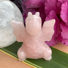Load image into Gallery viewer, Rose Quartz Dragon