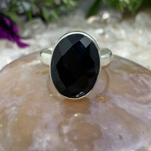 Load image into Gallery viewer, Black Onyx 925 Sterling Silver Ring
