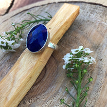 Load image into Gallery viewer, Lapis Lazuli 925 Sterling Silver Ring