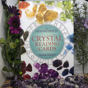 The Healing Oracle: Crystal Reading Cards