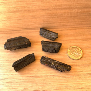 Small  Black tourmaline set