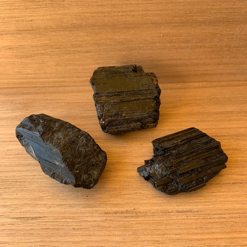 Black tourmaline set
