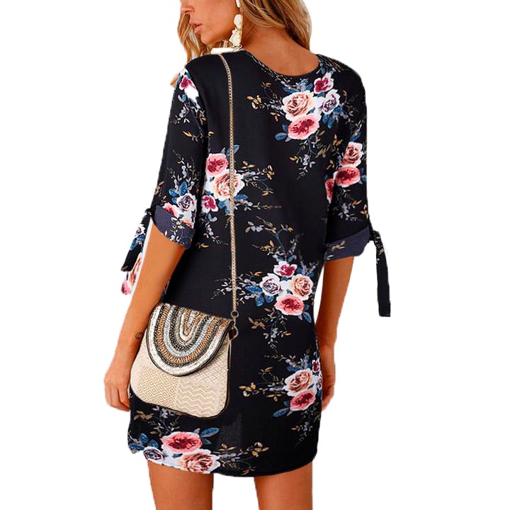 Female Floral Print Tunic
