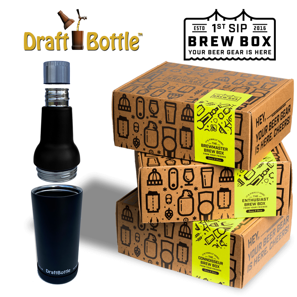 DraftBottle Featured in 1st Sip Brew Box!