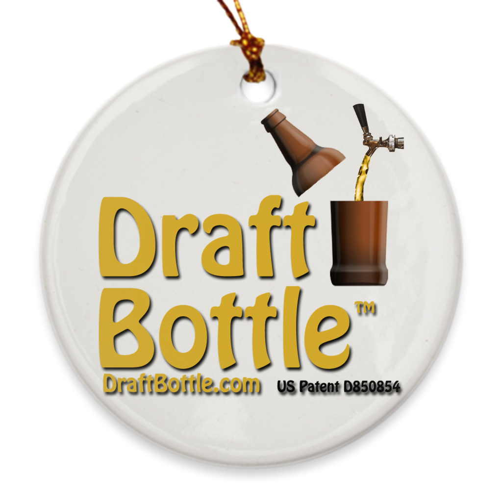 DraftBottle Porcelain Ornaments - DraftBottle