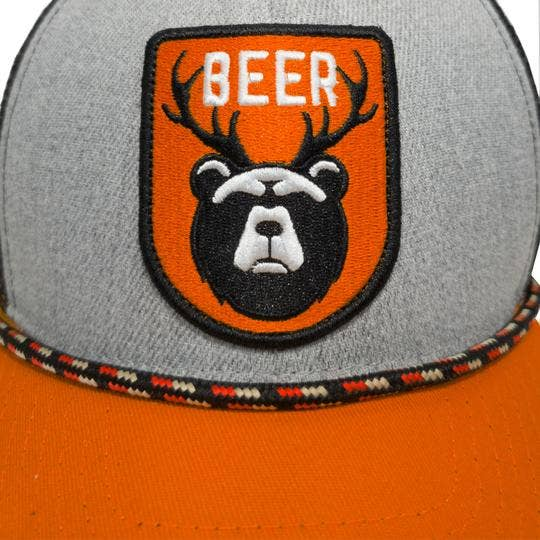 YoColorado Beer Bear Bottle Opener Brim Trucker Hat