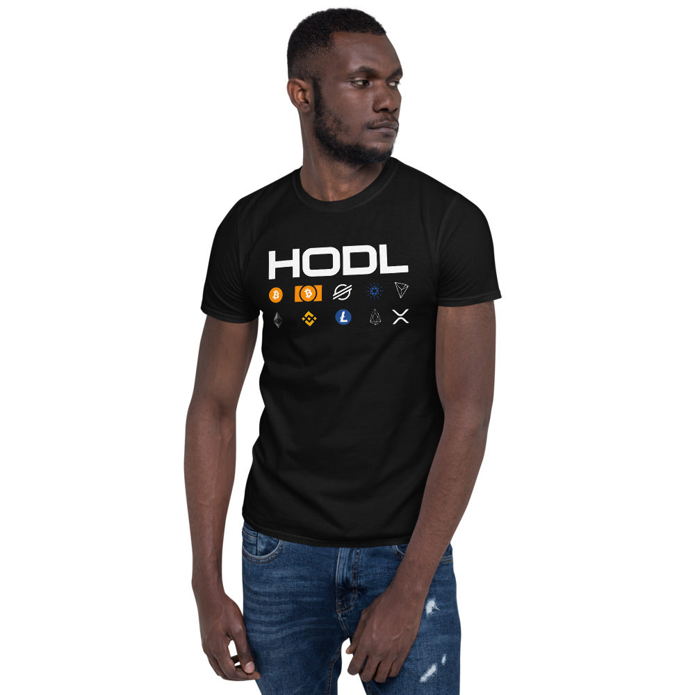 Crypto HODL Short-Sleeve Unisex T-Shirt
