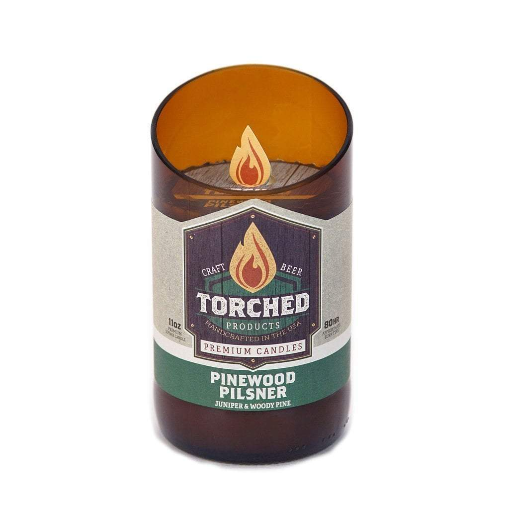 Torched Spirits Beer Bottle Candles - Made In The USA!