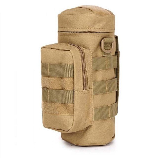 Molle DraftBottle Pouch Tactical Gear Water Bottle Pouch Hunting Outdoor Travel Bag - DraftBottle