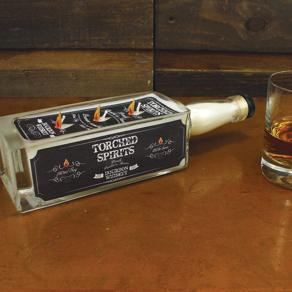 Torched Spirits Barrel Aged Bourbon Whiskey Candle