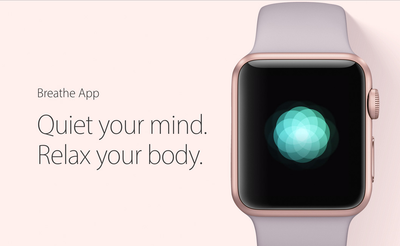 The Apple Watch Breathe app is one of the most important things Apple has ever done.