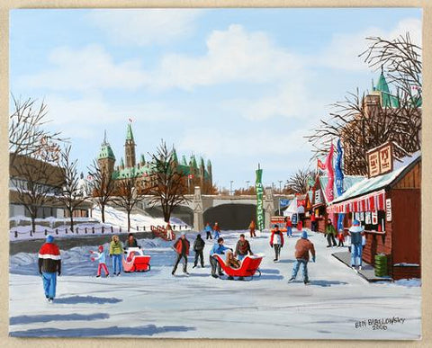 Winterlude, Ottawa (SOLD)