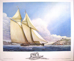 Grand Bank Schooner (remarqued)