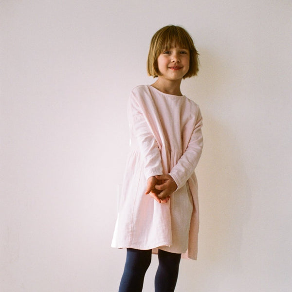 New Boy + Girl Una Dress in Blush