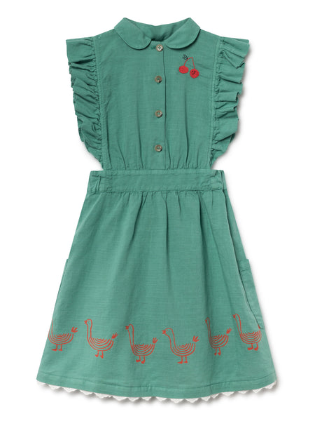 Bobo Choses Geese Ruffles Dress