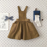Soor Ploom Harriot Pinafore, Mushroom